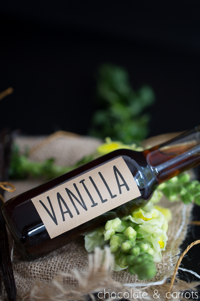 Homemade Vanilla Extract -5695