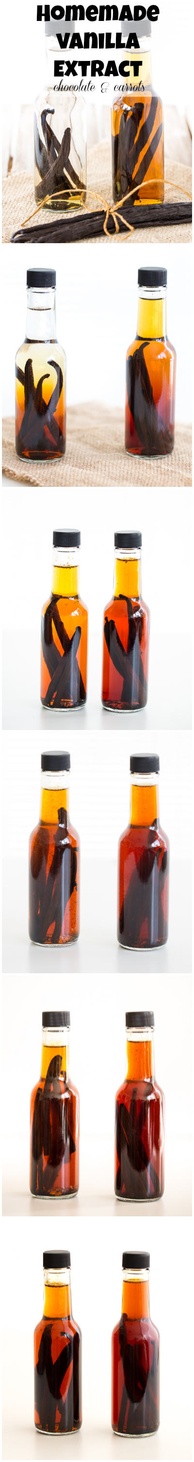 Homemade Vanilla Extract | chocolateandcarrots.com