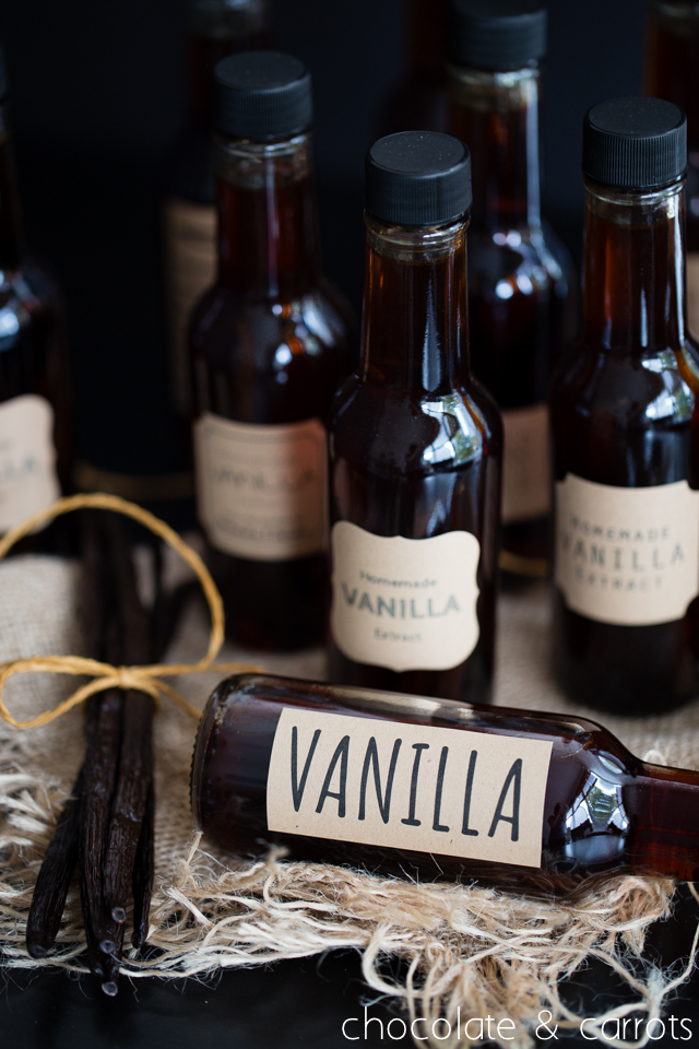 Homemade Vanilla Extract -5644