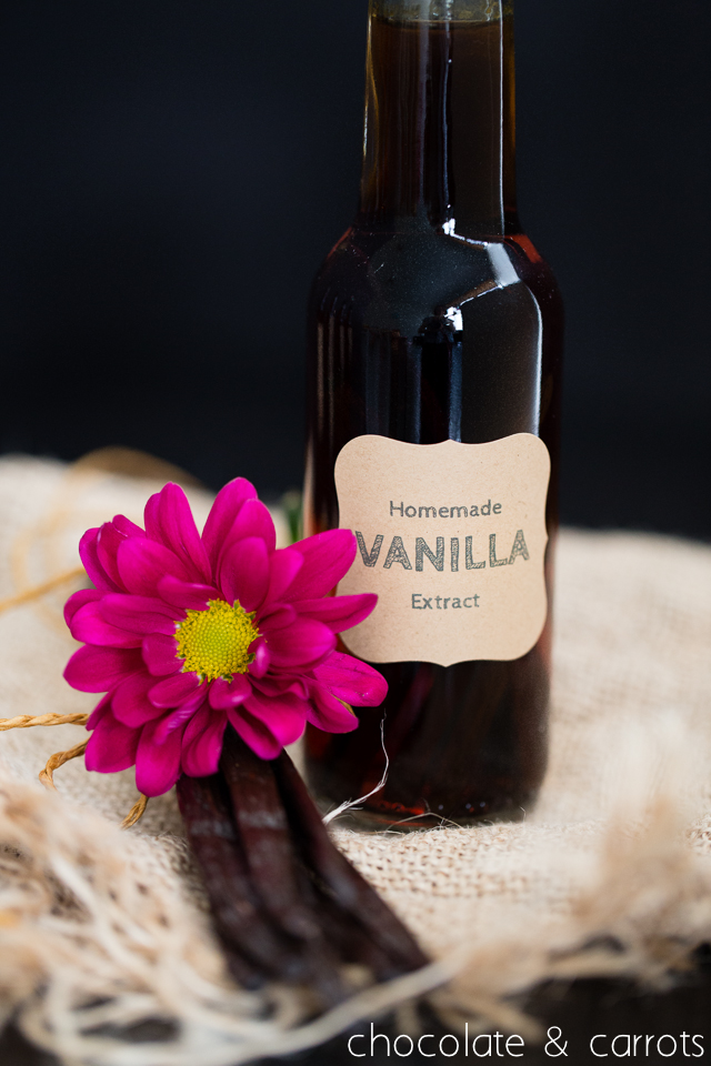Homemade Vanilla Extract -5676
