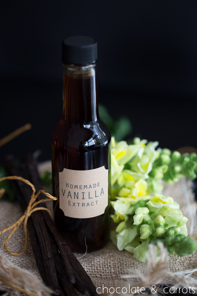 Homemade Vanilla Extract -5688