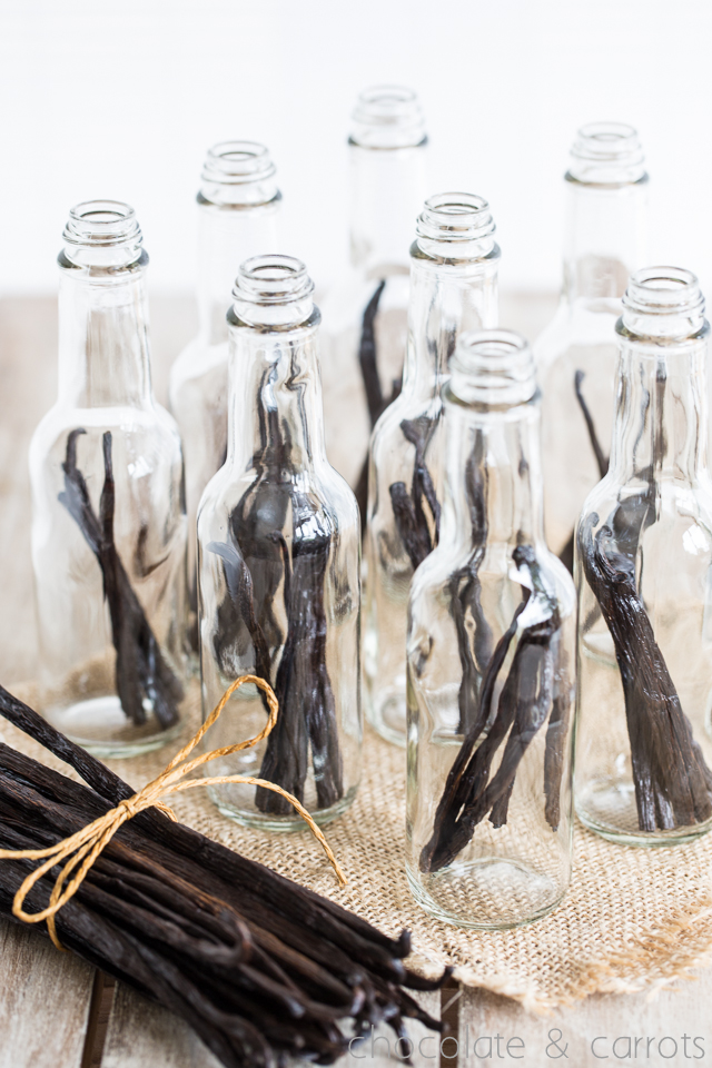 Homemade Vanilla Extract -3210