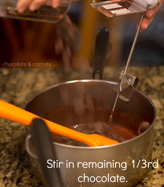 How to Temper Chocolate | chocolateandcarrots.com