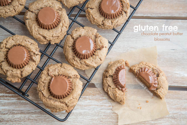 Chocolate Peanut Butter Blossoms | chocolateandcarrots.com