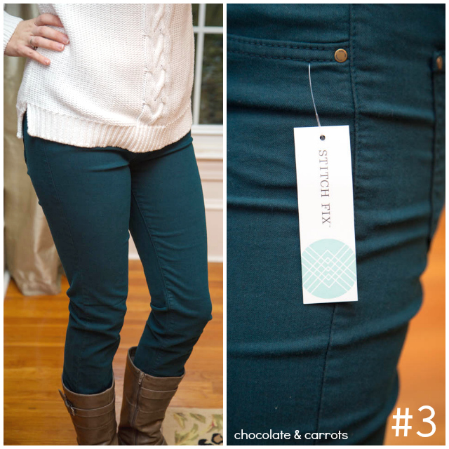 Stitch Fix Review - Outfit #3 | chocolateandcarrots.com