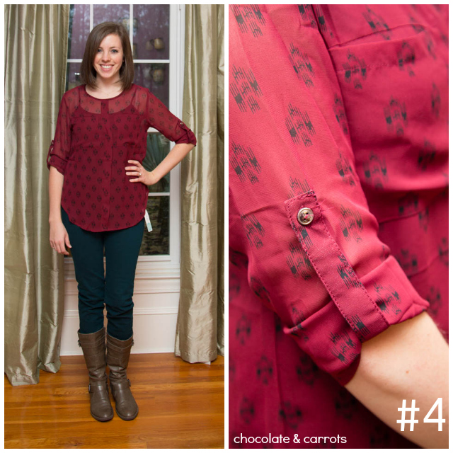 Stitch Fix Review - Outfit #4 | chocolateandcarrots.com