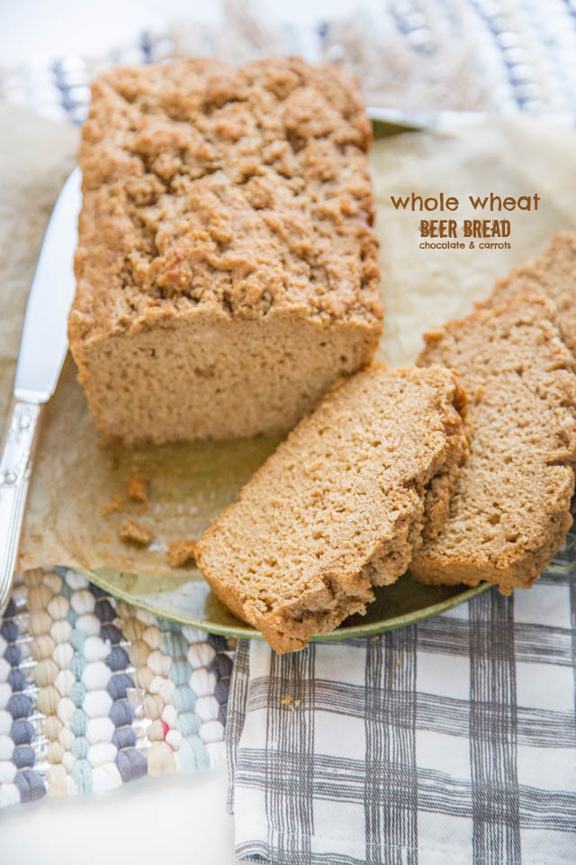 Whole Wheat Beer Bread | chocolateandcarrots.com