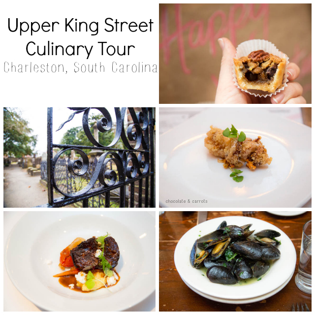 Upper King Street Culinary Tour | chocolateandcarrots.com