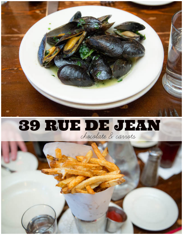 39 Rue De Jean Food | chocolateandcarrots.com