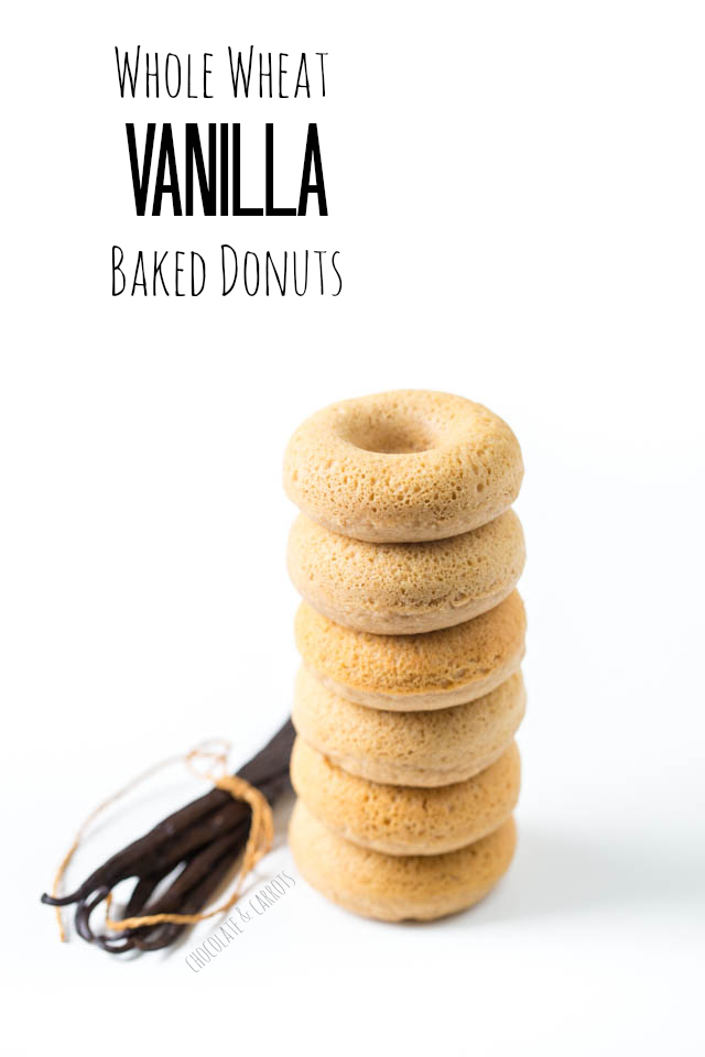 Whole Wheat Vanilla Baked Donuts | chocolateandcarrots.com