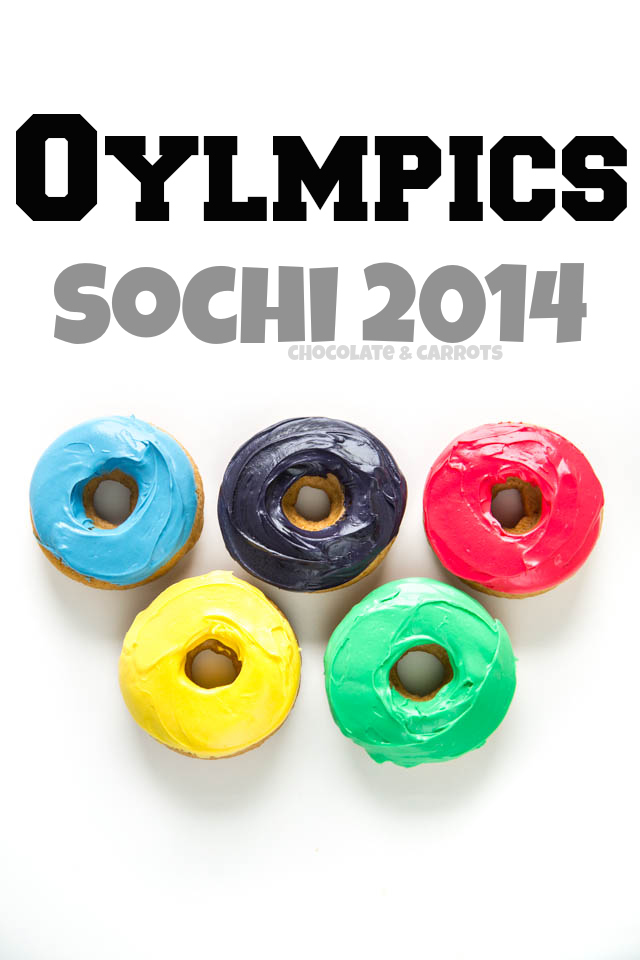 Olympic Baked Donuts | chocolateandcarrots.com