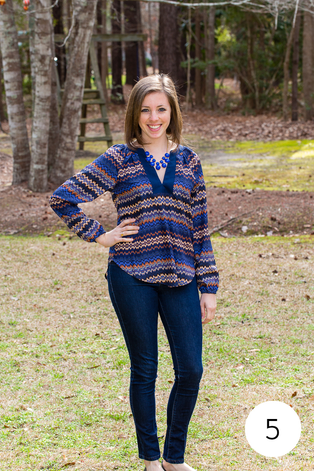 Stitch Fix Review- Outfit #5 | chocolateandcarrots.com