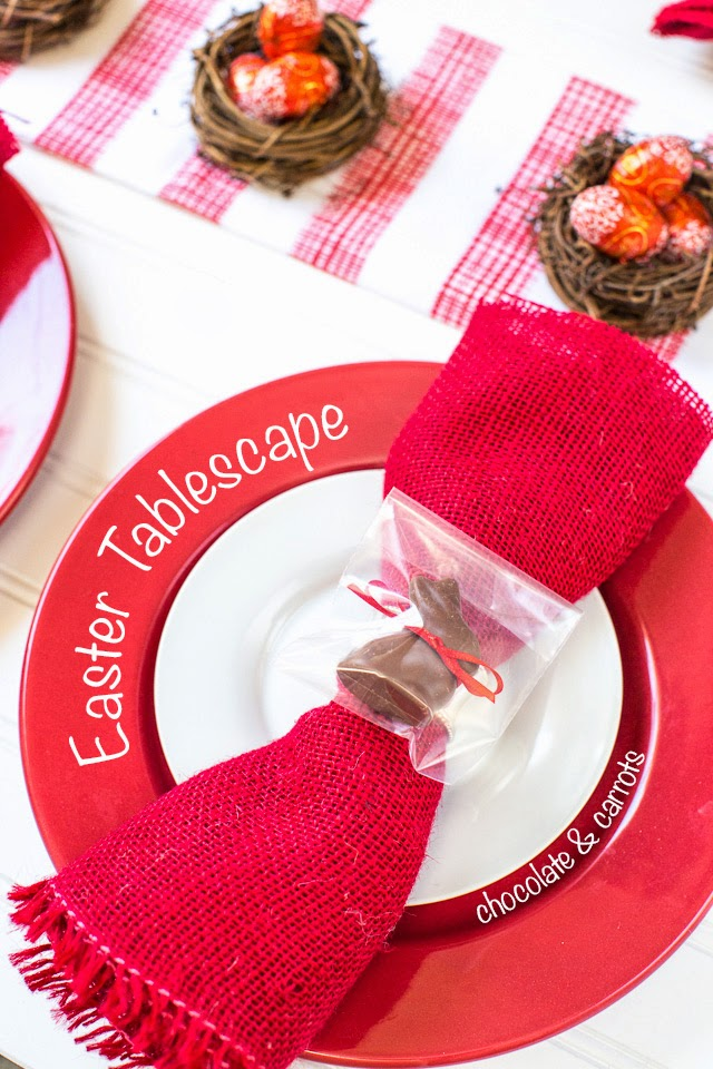 Easter Tablescape | chocolateandcarrots.com