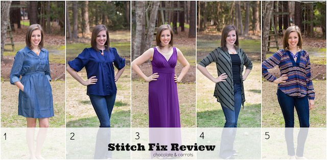 Stitch Fix Review | chocolateandcarrots.com #loveit