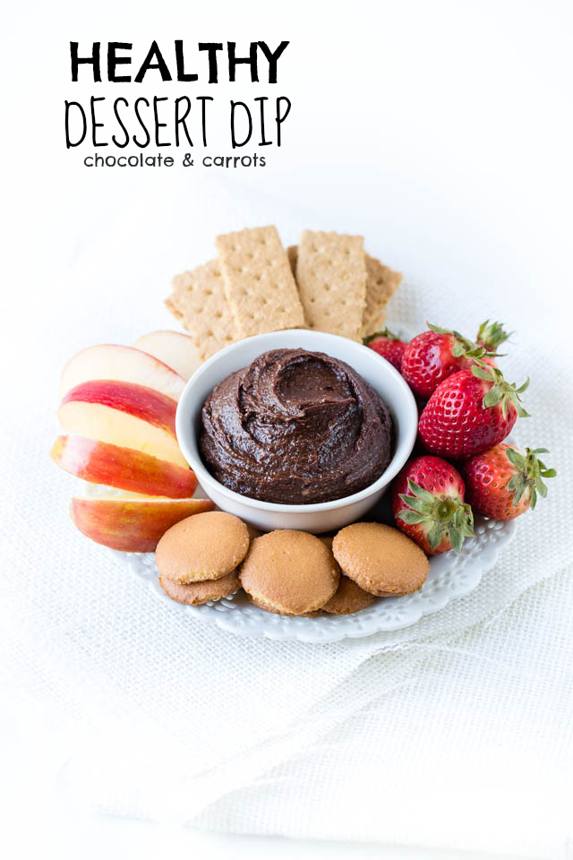 Healthy Dessert Dip | chocolateandcarrots.com
