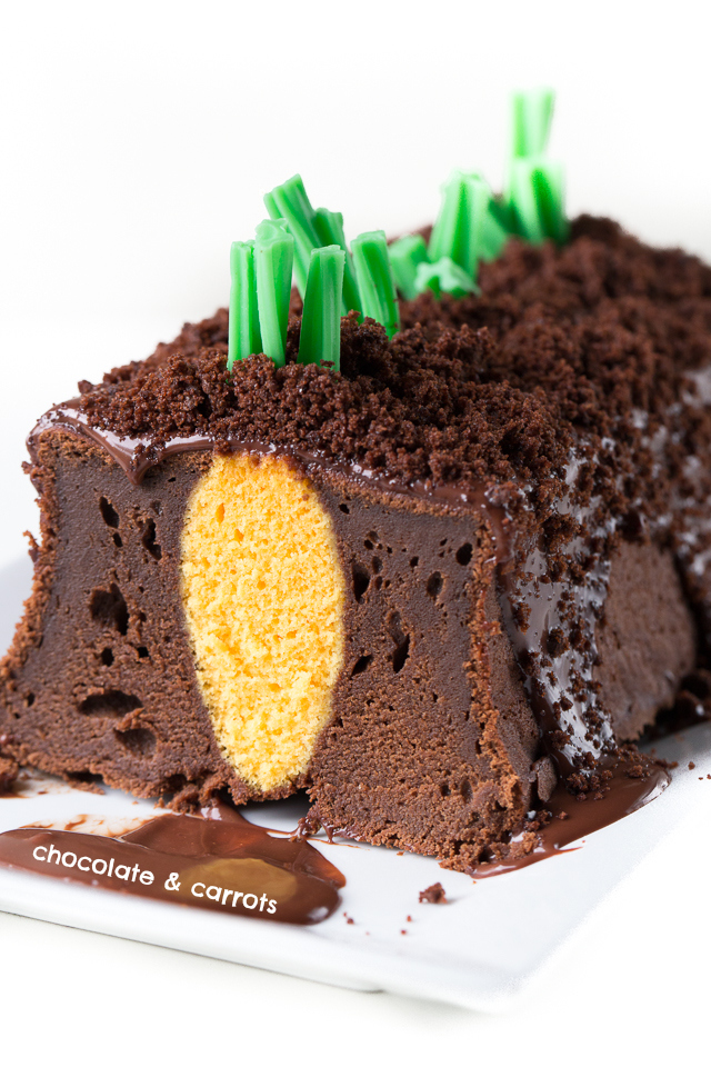 Carrot Patch Cake | chocolateandcarrots.com