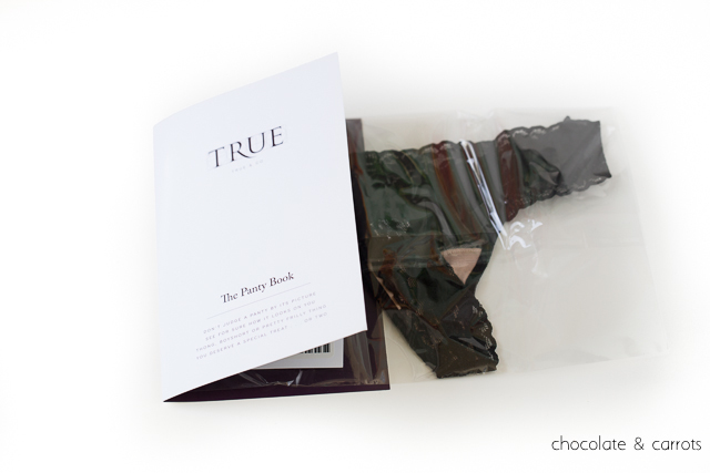 True&Co Review - Best Lace Thong Ever | chocolateandcarrots.com