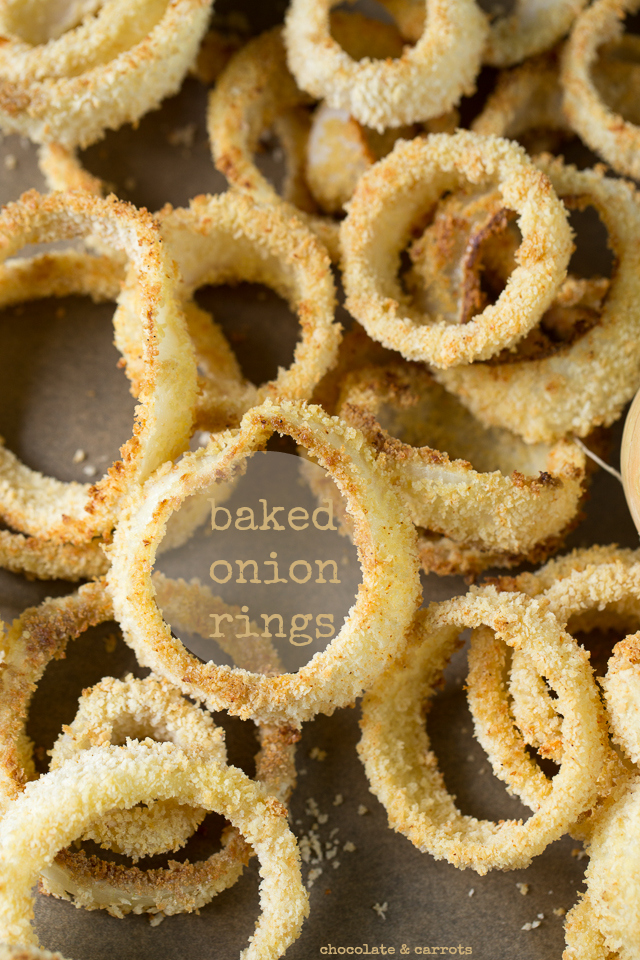 Baked Onion Rings | chocolateandcarrots.com