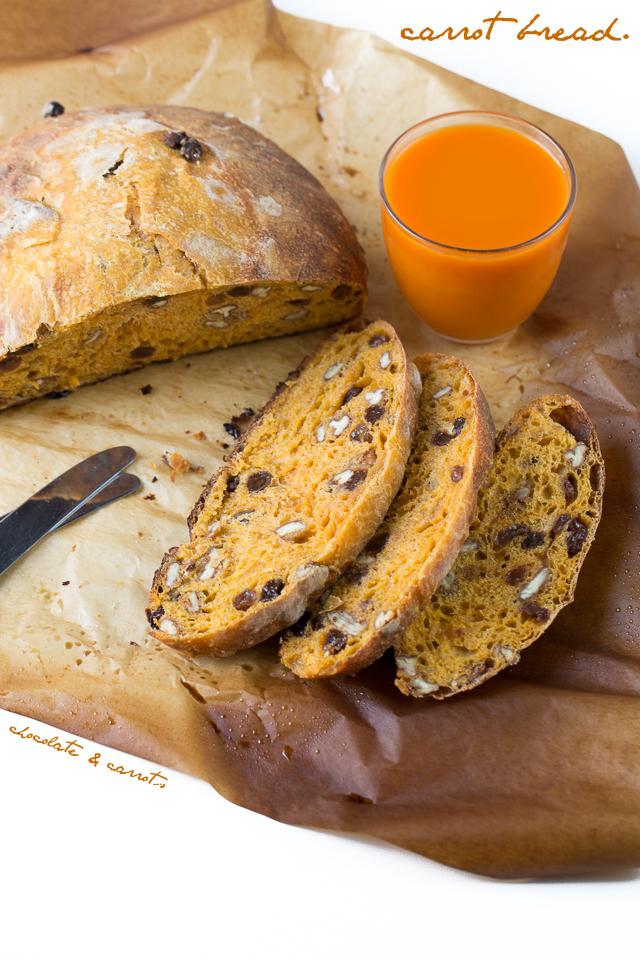 Carrot Bread | chocolateandcarrots.com