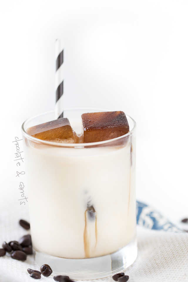 Iced Coffee Cubes | chocolateandcarrots.com