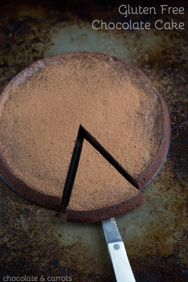 Rich Chocolate Cake #glutenfree | chocolateandcarrots.com