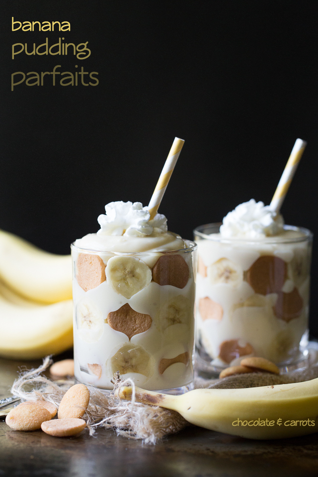Banana Pudding Parfaits | chocolateandcarrots.com