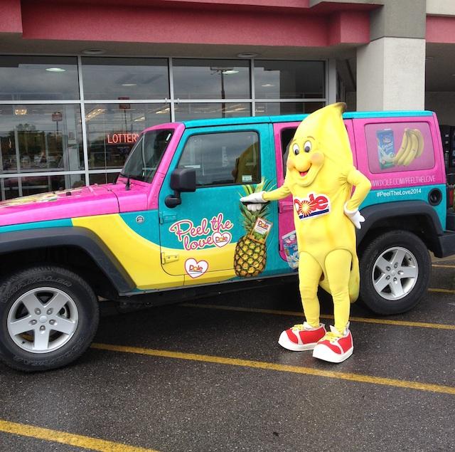 Bobbie Banana Love Jeep 1