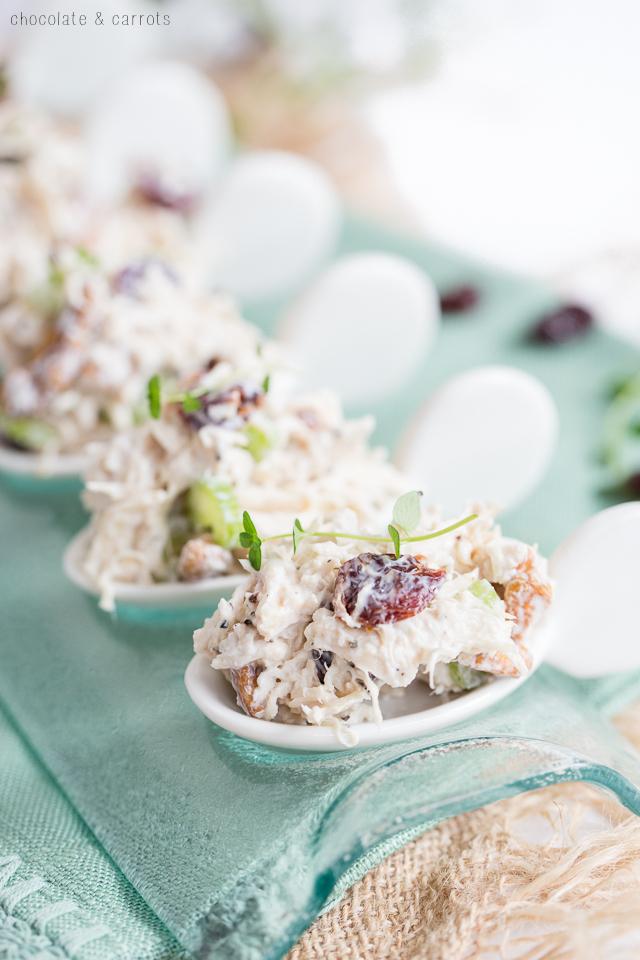 Cherry Chicken Salad   chocolateandcarrots.com