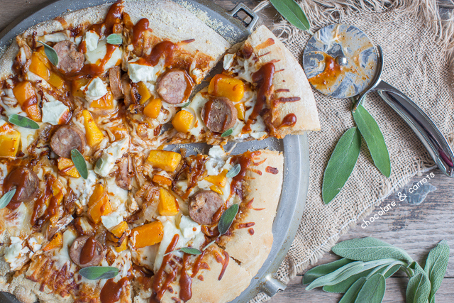 Autumn Pizza | chocolateandcarrots.com