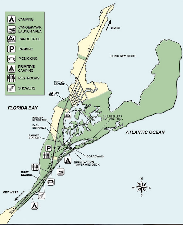 Long Key State Park Map