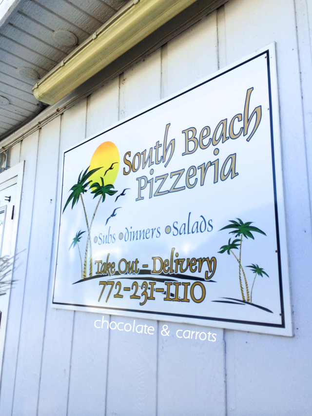 South Beach Pizzarerria | chocolateandcarrots.com