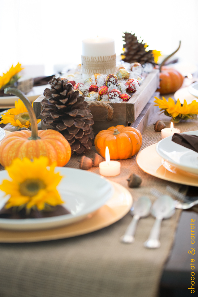 Thanksgiving Tablescape | chocolateandcarrots.com