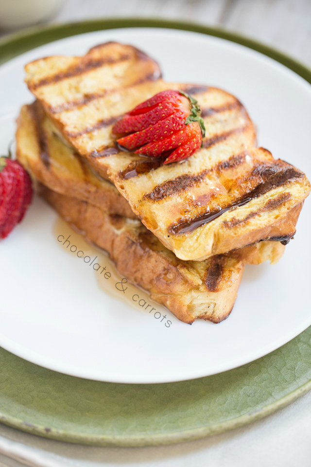 Grilled French Toast | chocolateandcarrots.com