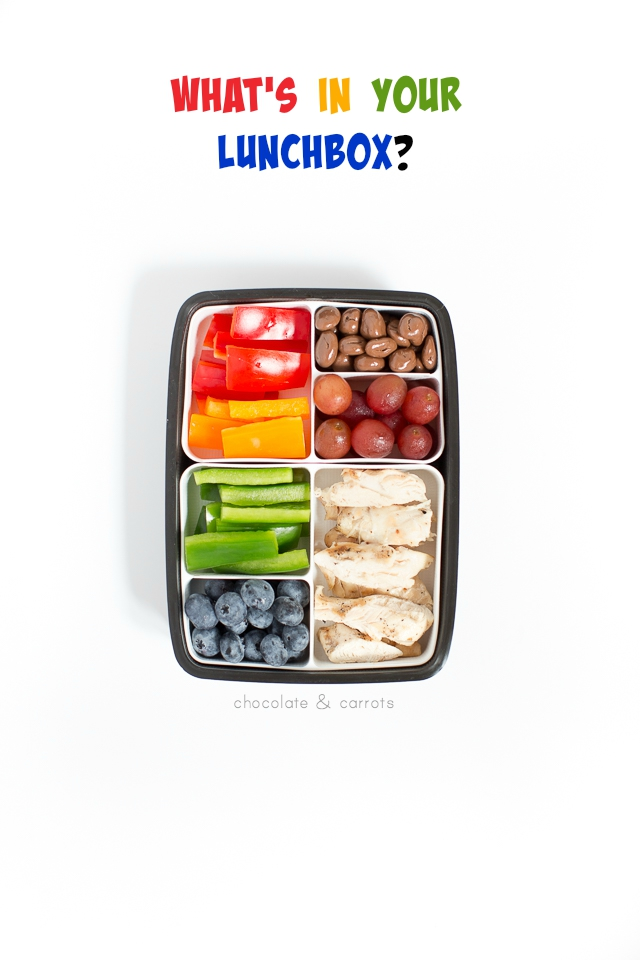 What's in your lunchbox? | chocolateandcarrots.com