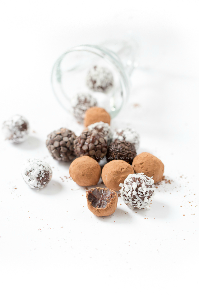 Vegan Chocolate Truffles | chocolateandcarrots.com