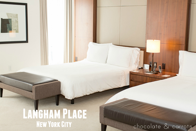 Langham Place, New York City | chocolateandcarrots.com