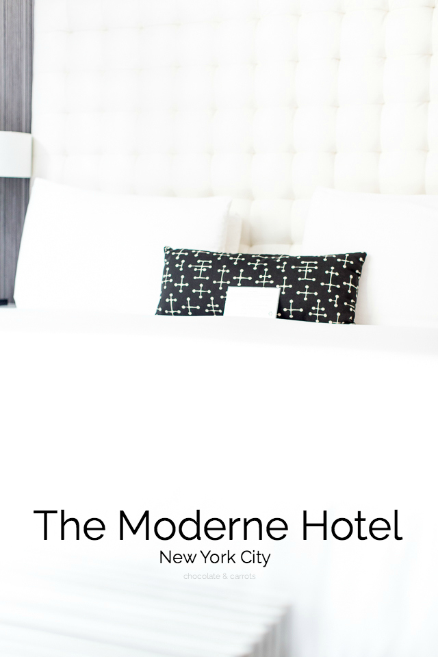 The Moderne Hotel, New York City | chocolateandcarrots.com