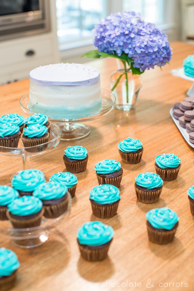 Teal and Purple Baby Shower | chocolateandcarrots.com -1