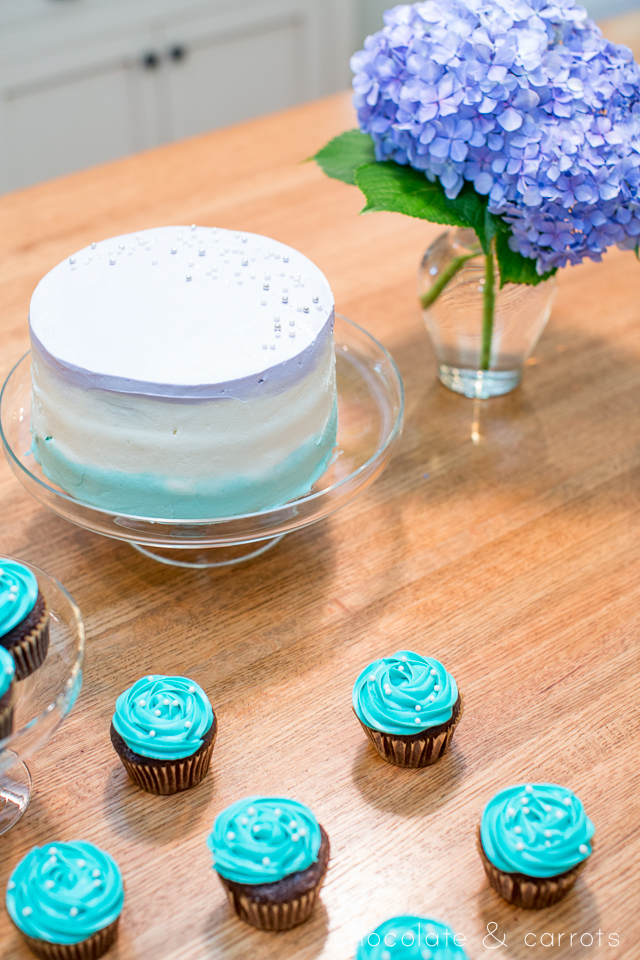 Teal and Purple Baby Shower | chocolateandcarrots.com -2