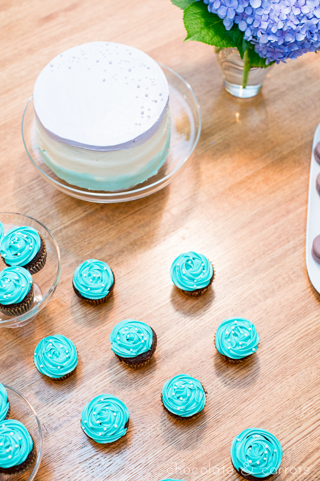 Teal and Purple Baby Shower | chocolateandcarrots.com -3