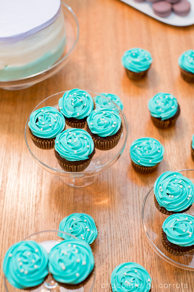 Teal and Purple Baby Shower | chocolateandcarrots.com -5