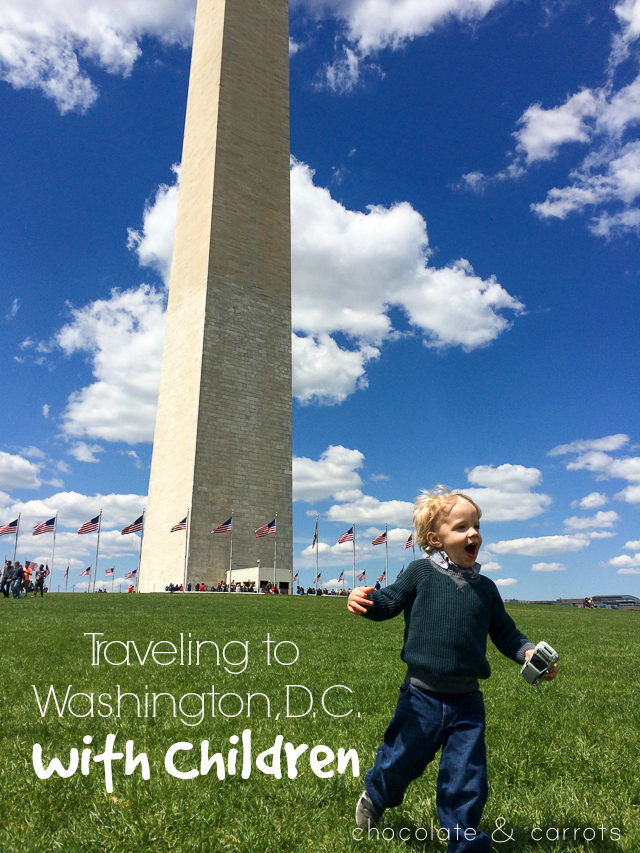 Traveling to Washington, D.C. with Children | chocolateandcarrots.com