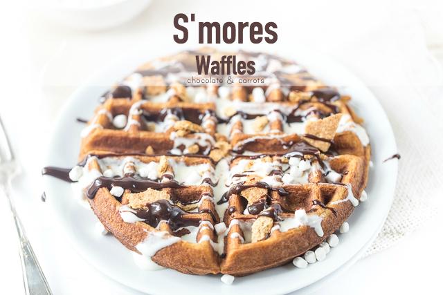 S'mores Waffles | chocolateandcarrots.com