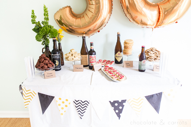 beer-pairing-party-chocolateandcarrots-com