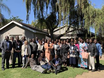 Continuing Healthcare Provider Trainings in Rural Zimbabwe