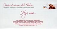 Carta de amor del padre x 100 Unid