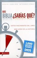 Biblia ¿Sabías qué?