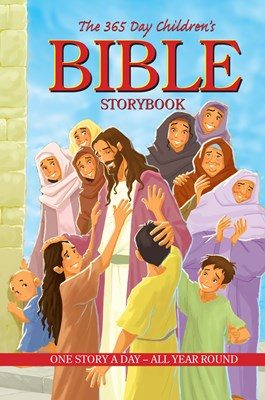 The 365 Day Children's Bible Storybook (eBook)