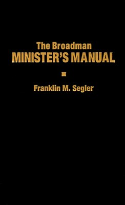 The Broadman Minister's Manual (eBook)