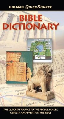 Holman QuickSource Bible Dictionary (eBook)
